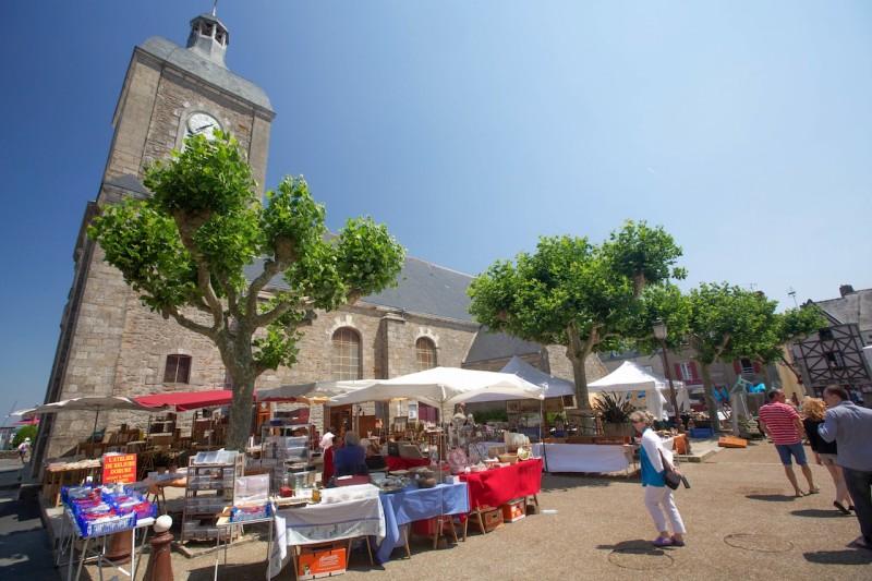Piriac et son marché