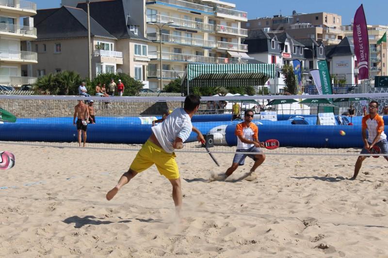 Pornichet beach Tennis