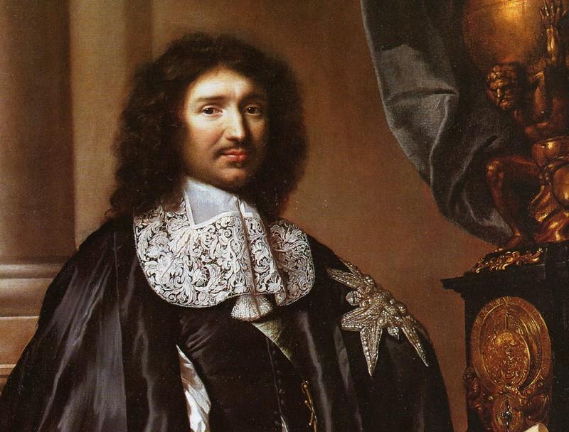 Portrait de Jean-Baptiste Colbert par Claude Lefèbvre