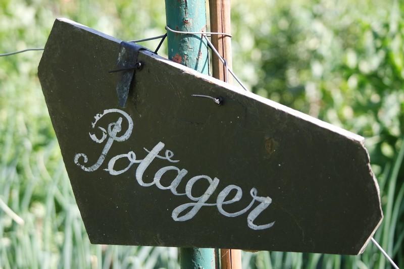 Le potager, les Jardins des Marais à Herbignac