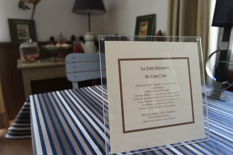 Produits locaux au Casa Cosy au Pouliguen