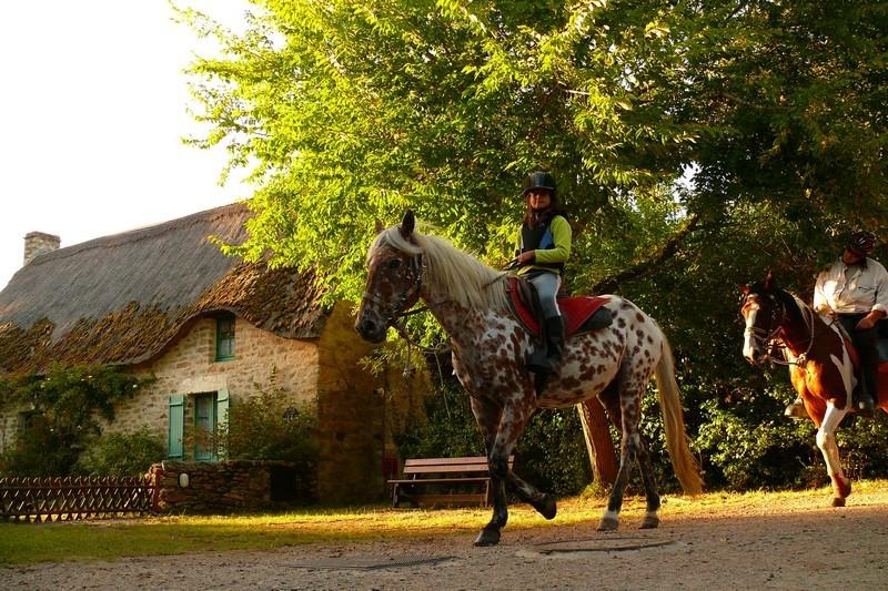 Promenade à cheval - Kerhinet (St-Lyphard)