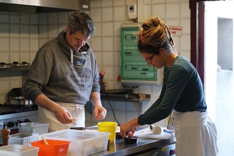 Stéphane et Charlotte au Chaudron à La Turballe