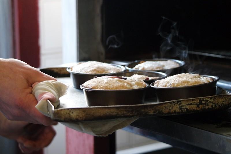 Tatin d'oignon, panais et chorizo - Le Chaudron La Turballe