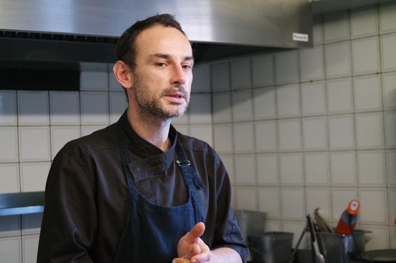 Thomas, chef du Chaudron, restaurant à La Turballe