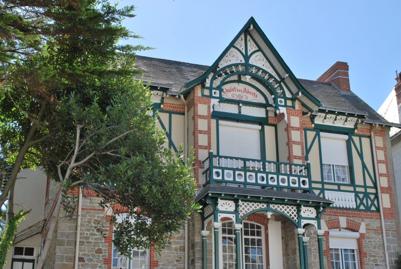 Villa dans une rue de La Baule
