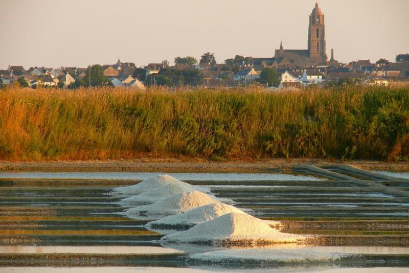 Village de paludiers au coeur des marais salants de Guérande