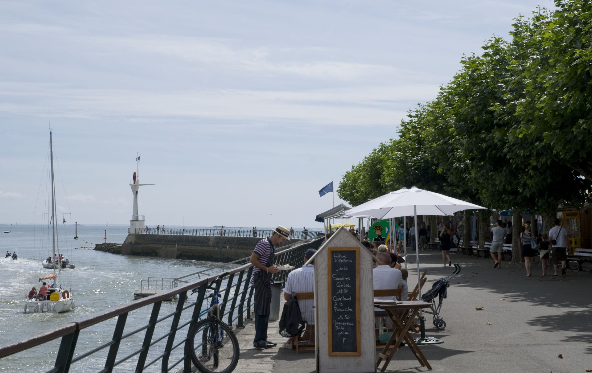 Galeries photos - Le bistrot du port courseulles ...