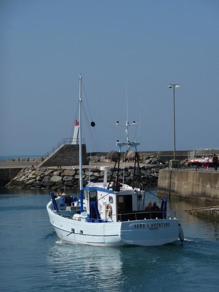 01 - Balade et pêche en mer avec Vers l'Aventure