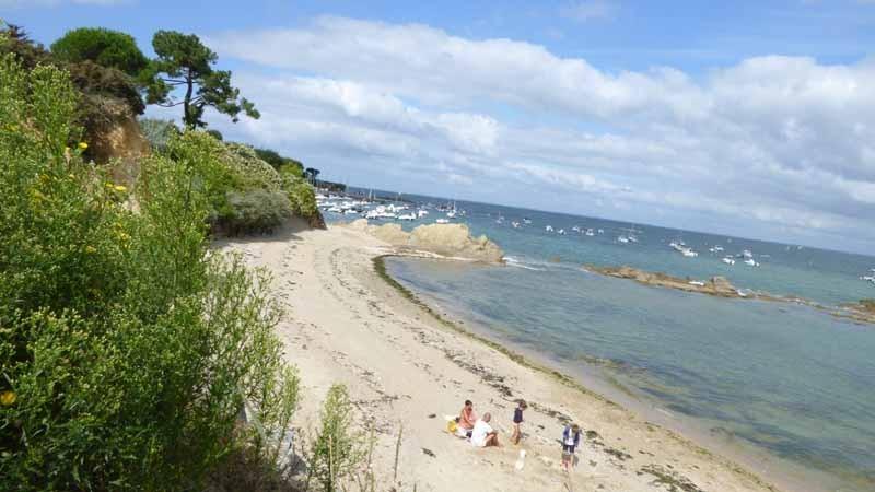 Strand von Cabonnais und von Lannguy