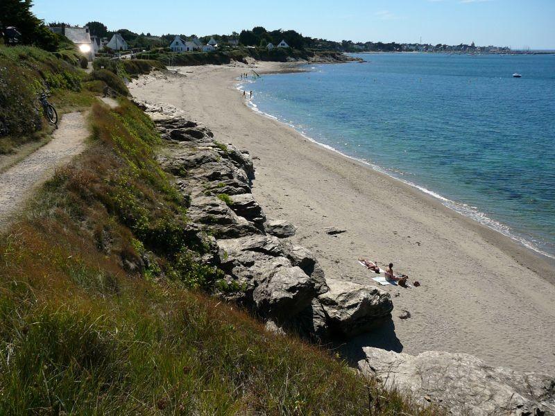 Plage de Port au Loup à Piriac-sur-Mer, sentier côtier à découvrir