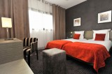 01 - Best Western Hôtel de la Cité & Spa***, chambre twin  rouge Guérande