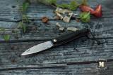 01 - Couteau de poche mini en Morta Atelier JHP Saint-André-des-Eaux