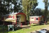 Guérande Camping Etang du Pays Blanc - En campagne - Roulotte insolite