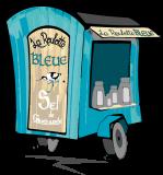 01- La Roulotte Bleue - visite des marais salants à Pradel,  Guérande