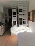Appartement N°6 - Partie salon - vue cuisine