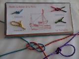 Atelier tableau de noeuds musée maison de la pêche à La Turballe