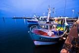 Bateaux de pêche amarré