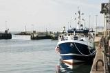 Bateaux de pêche arrimé