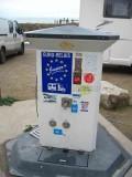 Borne de service pour camping-car à Batz-sur-Mer
