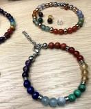 Bracelets chemin de vie et 7 chakras - Meirea - Guérande