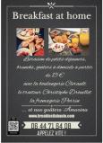 Breakfast at Home flyer la Baule