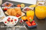Breakfast at Home plateau petit dejeuner la Baule