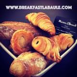 Breakfast at Home viennoiseries la Baule