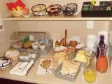 Guérande Hôtel Eurocéan buffet du petit-déjeuner