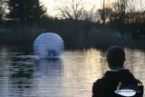 Camping l'Etang du Pays Blanc - Guérande - Bulle sur l'eau