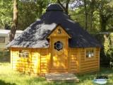 Camping l'Etang du Pays Blanc - Guérande - Hébergement insolite - Kota finlandais