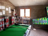 Camping le Panorama - Guérande - Espace jeux, baby-foot et flipper