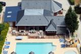 Camping Mon Calme - Piriac sur Mer - piscine vue du ciel