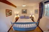 Chambre bleu Appartement , Manoir des 4 Saisons à La Turballe, Crédit A Drean