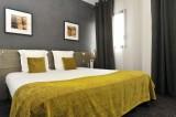 Guérande Best Western Hôtel de la Cité, chambre double verte
