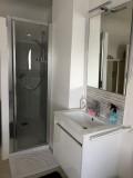 Chambre d'hôtes - Guérande - Chez Huguette - Douche de la chambre blanche