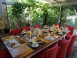 Chambre d'hôtes Le Cottage - Saint-Molf - petit-déjeuner dans la véranda