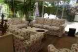 Chambre d'hôtes Le Cottage - Saint-Molf - salon dans la véranda