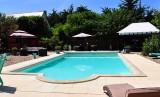 chambre d'hôtes les embruns, la piscine et le jardin