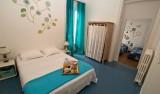 Chambre familiale de l'hôtel de la Plage à Piriac