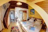 Chambre jaune, Manoir des 4 Saisons à La Turballe, Crédit A Drean