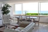 Chambres d'hôtes Les Embruns au Pouliguen, vue mer depuis le salon/séjour