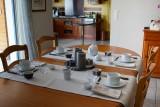 Chez M. et Mme Estreguil - chambre d'hôtes à Piriac sur Mer - petit-déjeuner