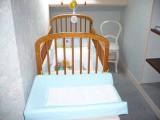 Chez Mme Brasselet - Chambres d'hôtes à Saint-Molf en Brière - lit bébé à disposition
