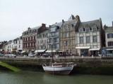 Circuit le tour de côte, le Croisic les quais, vue sur les anciennes demeures d'armateurs