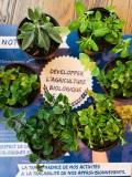 Développe l'agriculture biologique