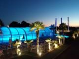 Camping La Roseraie La Baule - Complexe aquatique de nuit
