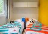 10 - Guérande Camping Le Bréhadour - Mobil-home Grand family espace Privilège - Chambre enfants