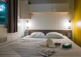 9- Guérande Camping Le Bréhadour - Mobil-home Grand family espace Privilege - chambre