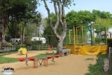 Guérande Camping Etang du Pays Blanc - En campagne - Aire de jeux enfants trampoline